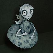 """Куклы и игрушки ручной работы. Ярмарка Мастеров - ручная работа Фигурка """"Странная девочка"""" по мотивам мультфильма Frankenweenie. Handmade."""