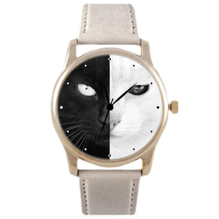 Часы картинки с котом