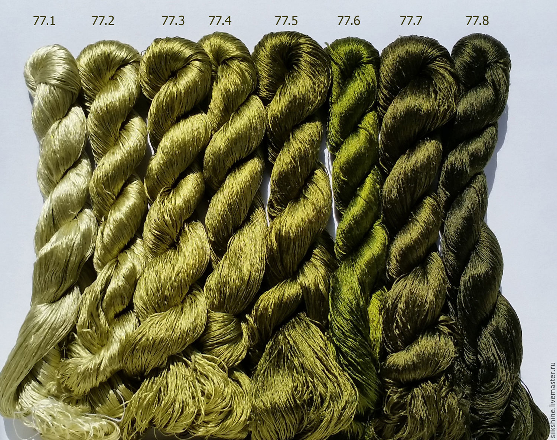 Шелковые нитки для вышивания 56