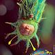 Человечки ручной работы. Заказать Мотыльковая куколка Флоретти теддидолл-брошка 7,5см смешанная техника. Инесса Кирьянова Happiness Toys© (ineska). Ярмарка Мастеров.