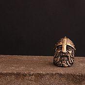 Сувениры и подарки handmade. Livemaster - original item A copy of Bead work lanyard knight. Handmade.