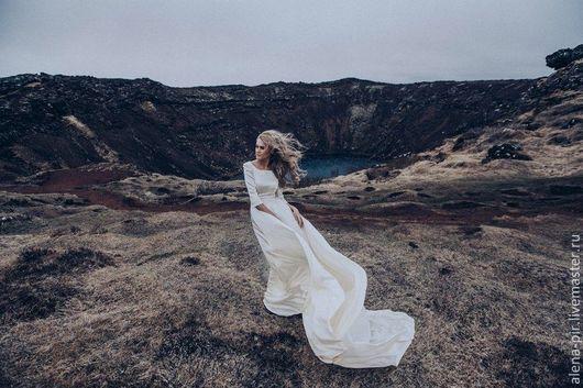 """Платья ручной работы. Ярмарка Мастеров - ручная работа. Купить Вечернее платье """"Исландия"""". Handmade. Вечернее платье"""