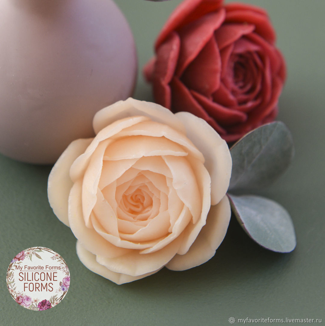 Silicone Soap Mold Rose ' Ontario', Form, Zheleznodorozhny,  Фото №1