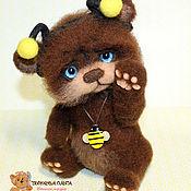 """Куклы и игрушки ручной работы. Ярмарка Мастеров - ручная работа Медвежонок """"Медовое счастье"""". Handmade."""