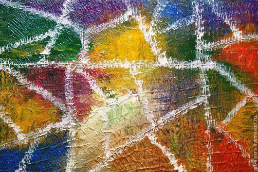 Абстракция ручной работы. Ярмарка Мастеров - ручная работа. Купить КЛОУНАДА. Handmade. Абстрактная картина, картина для интерьера, 3Д