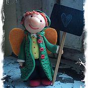 """Подарки к праздникам ручной работы. Ярмарка Мастеров - ручная работа Фей """"Трогательный признаний"""". Handmade."""