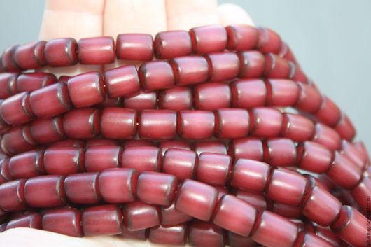 Для украшений ручной работы. Ярмарка Мастеров - ручная работа. Купить Семена пальмы Бури. тонированные  цвет бургунди. Handmade.