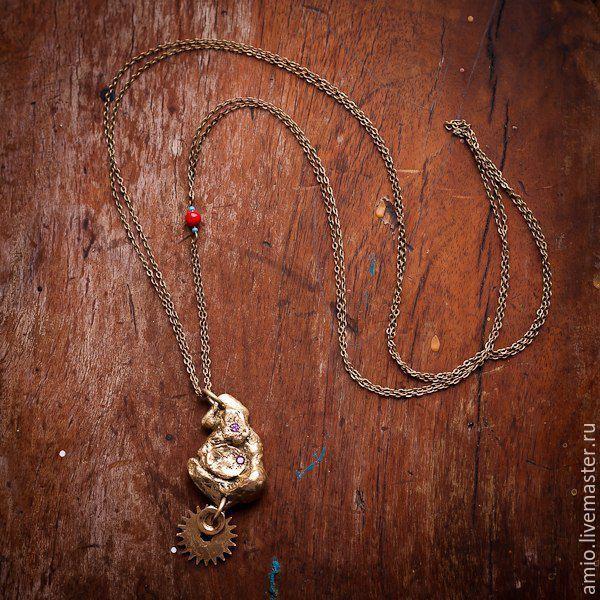Кулоны ручной работы из золота 33