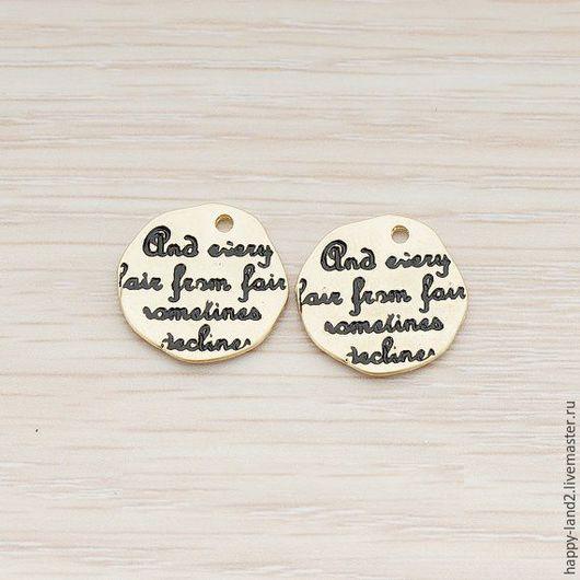 Для украшений ручной работы. Ярмарка Мастеров - ручная работа. Купить Монета декоративная,Талисман  Южная Корея. Handmade. Комбинированный