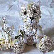 Куклы и игрушки ручной работы. Ярмарка Мастеров - ручная работа игрушка  вязаная Медведь. Handmade.