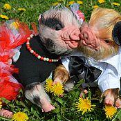 Куклы и игрушки ручной работы. Ярмарка Мастеров - ручная работа Свинка реборн , Thistle by Cindy Musgrove.. Handmade.