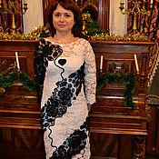 """Одежда ручной работы. Ярмарка Мастеров - ручная работа Платье """" Черное сердце"""". Handmade."""