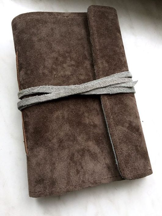 Блокноты ручной работы. Ярмарка Мастеров - ручная работа. Купить Блокнот из замши ручной работы. Handmade. Блокнот ручной работы