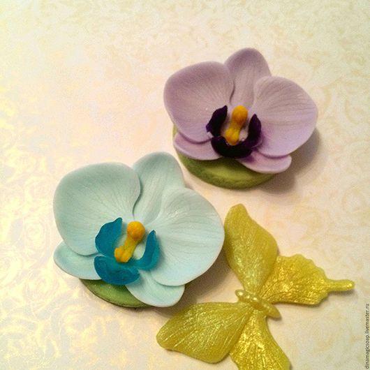 Мыло ручной работы. Ярмарка Мастеров - ручная работа. Купить мыло Орхидея. Handmade. Комбинированный, орхидея, цветы