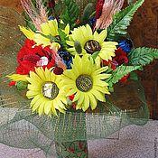 """Цветы и флористика ручной работы. Ярмарка Мастеров - ручная работа """"Полевые цветы 2"""". Handmade."""