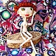 Коллекционные куклы ручной работы. НИКОЛЬ Шарнирная текстильная кукла. AEA. Интернет-магазин Ярмарка Мастеров. Текстильная кукла, doll