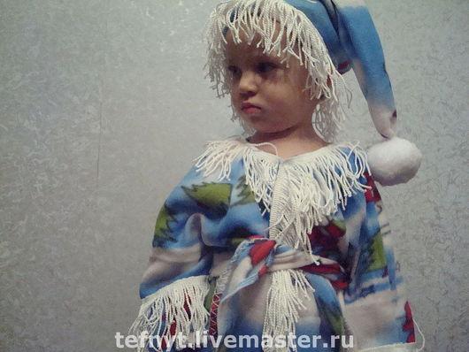 Детские карнавальные костюмы ручной работы. Ярмарка Мастеров - ручная работа. Купить Маленький Дед Морозик. Handmade. Дед мороз