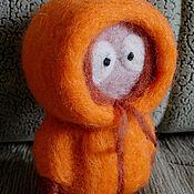 Куклы и игрушки ручной работы. Ярмарка Мастеров - ручная работа валяшка Кенни. Handmade.