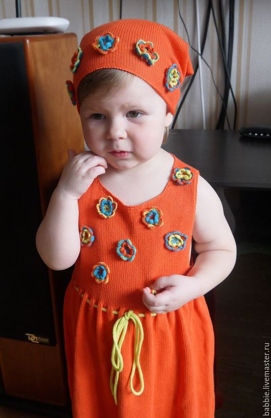 Одежда для девочек, ручной работы. Ярмарка Мастеров - ручная работа. Купить Сарафан для девочки. Handmade. Комбинированный, сарафан для девочки