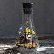 Для дома и интерьера ручной работы. Ярмарка Мастеров - ручная работа Radioactive.Флорариум искусственный. Handmade.