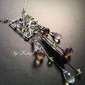 Украшения handmade. Livemaster - original item Necklace Werena (silver). Handmade.