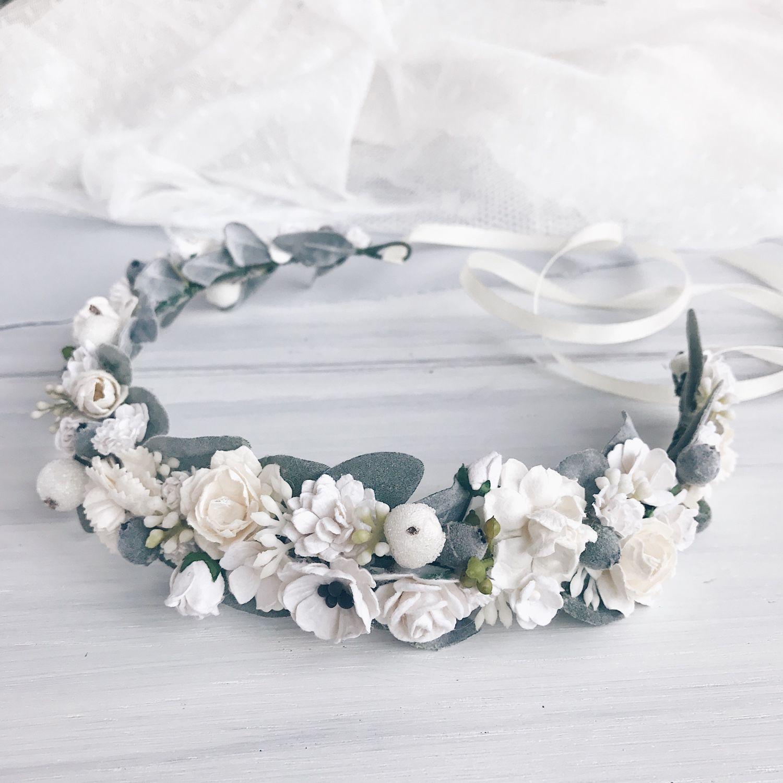 Роз корзине, венки из цветов на голову купить в москве