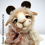 Куклы и игрушки ручной работы. Ярмарка Мастеров - ручная работа Барашек Ритис ADOPTED. Handmade.
