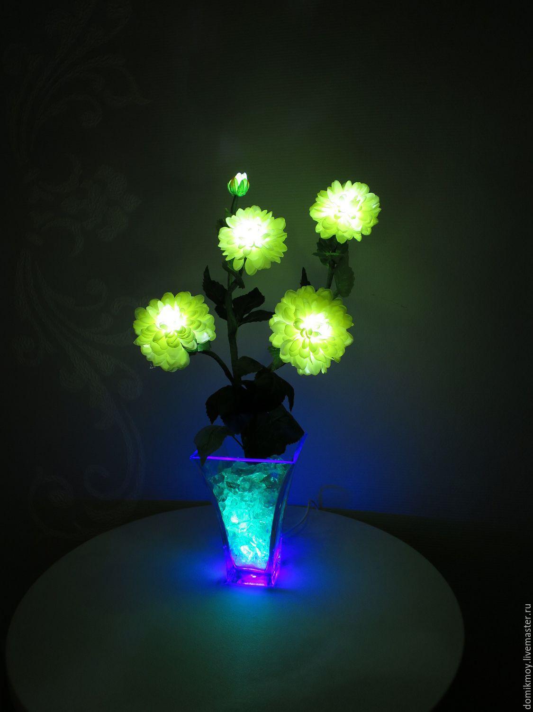 Где купить в новосибирске светящиеся цветы, красноярске северном недорого