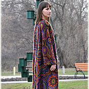 """Одежда ручной работы. Ярмарка Мастеров - ручная работа Вязаное пальто """"Super Kaleidoscope"""". Handmade."""
