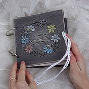 Скетчбуки ручной работы. Ярмарка Мастеров - ручная работа Скетчбук с растительным узором. Handmade.