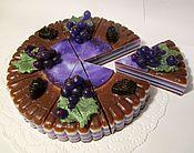 """Косметика ручной работы. Ярмарка Мастеров - ручная работа торт мыло""""СМОРОДИНКА"""". Handmade."""