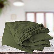 Для дома и интерьера handmade. Livemaster - original item linen sheet. Bed linen made of natural linen. Handmade.