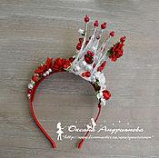 Корона из цветов своими руками