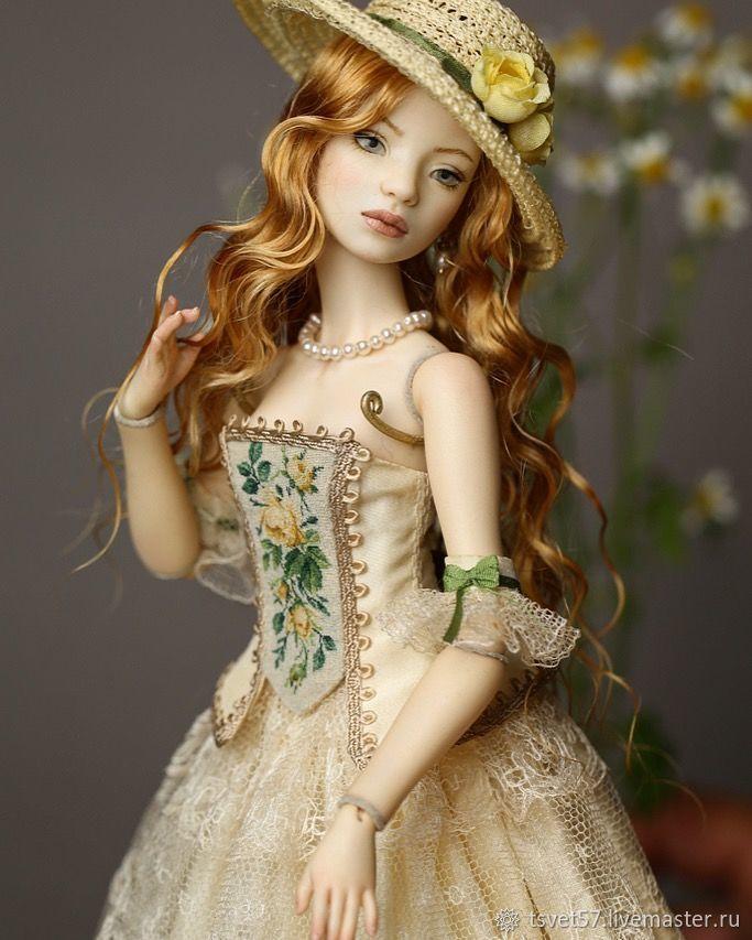 """Шарнирная фарфоровая кукла """"Диана"""", Шарнирная кукла, Санкт-Петербург,  Фото №1"""