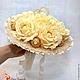 Букеты ручной работы. Заказать Букет из конфет розы букет невесты дублёр. Ника Окунева 'ZEFIRKI'. Ярмарка Мастеров. Букет