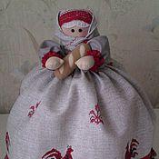Посуда handmade. Livemaster - original item Woman on the kettle. Handmade.