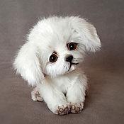 Куклы и игрушки handmade. Livemaster - original item Puppy White Sun. Handmade.