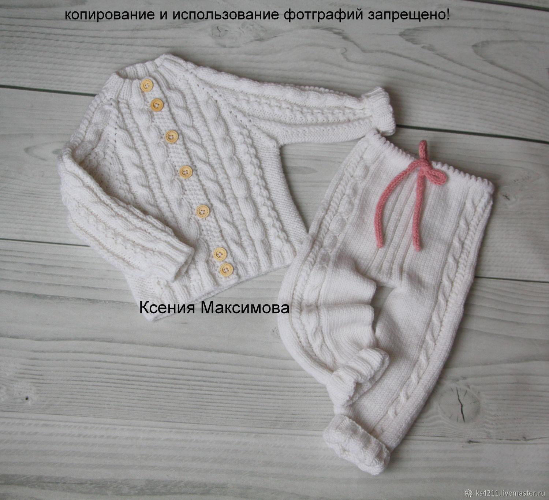 Clothes for Girls handmade. Livemaster - handmade. Buy Set I - Princess size 92 jacket pants.White
