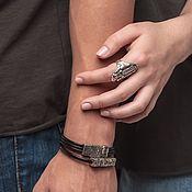 Украшения handmade. Livemaster - original item Ring selenolate Inanna and Dumuzi 17 p and 18P. Handmade.