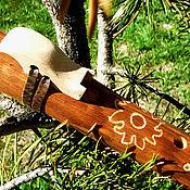 """Музыкальные инструменты ручной работы. Ярмарка Мастеров - ручная работа Флейта-пимак """"Солнечный"""". Handmade."""