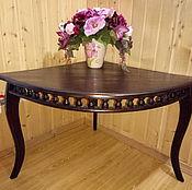 Для дома и интерьера ручной работы. Ярмарка Мастеров - ручная работа столик угловой для цветов.. Handmade.