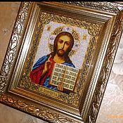 Icons handmade. Livemaster - original item The Lord Almighty. Handmade.