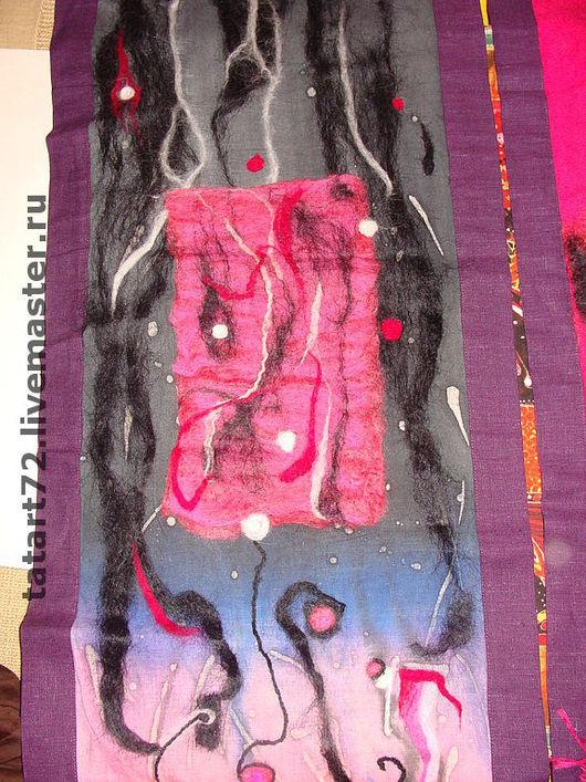Символизм ручной работы. Ярмарка Мастеров - ручная работа. Купить восток-дело тонкое( батик войлок триптих ). Handmade.