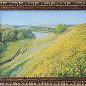 """Картины и панно ручной работы. Ярмарка Мастеров - ручная работа картина """"Летний день"""". Handmade."""