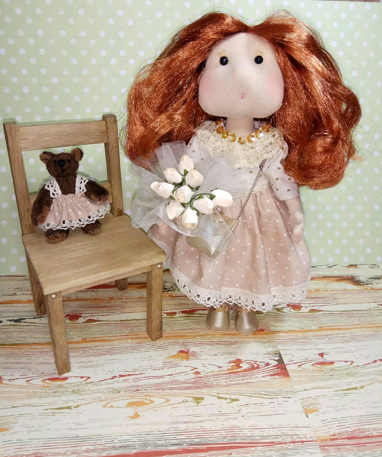 Интерьерная кукла, Куклы и игрушки, Белгород, Фото №1