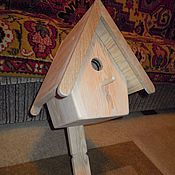 Для дома и интерьера ручной работы. Ярмарка Мастеров - ручная работа Синичник. Handmade.