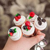 Посуда handmade. Livemaster - original item Spoons with cupcakes. Handmade.