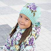 Работы для детей, ручной работы. Ярмарка Мастеров - ручная работа Осеннее пальто и шапочка с вышивкой. Handmade.
