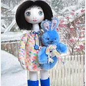 Куклы и игрушки ручной работы. Ярмарка Мастеров - ручная работа текстильная кукла Настя. Handmade.