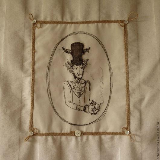Шляпник получился очень похожим на дорогого нашего Александра Сергеевича. Может, потому, что читаю я сейчас `Пиковую даму?